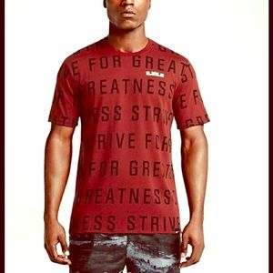 NWT NIKE LEBRON ALL OVER T-SHIRT TOP MENS 3XL
